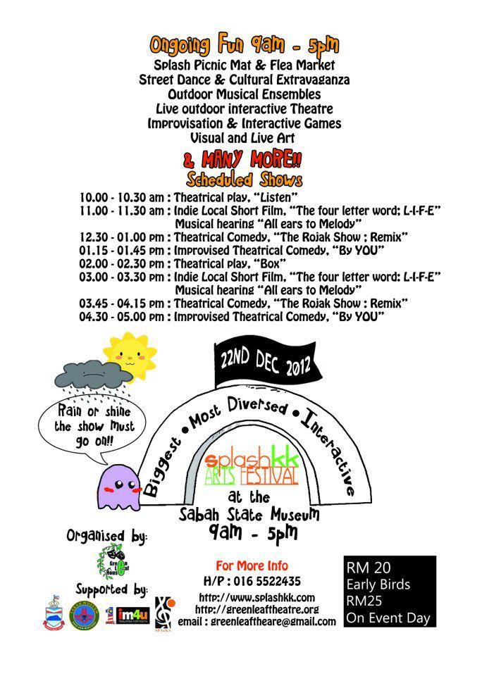 SplashKK schedule