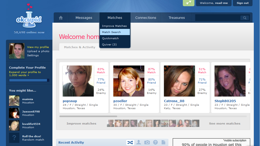 reviews okcupid dating site