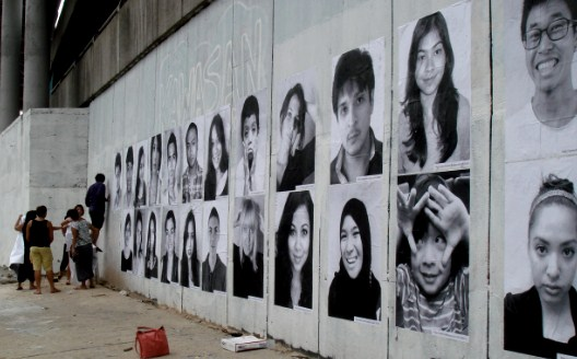 A fab project called 'Inside Our Project: We're All Mixed' which showcases the extremely mixed population of Malaysia.