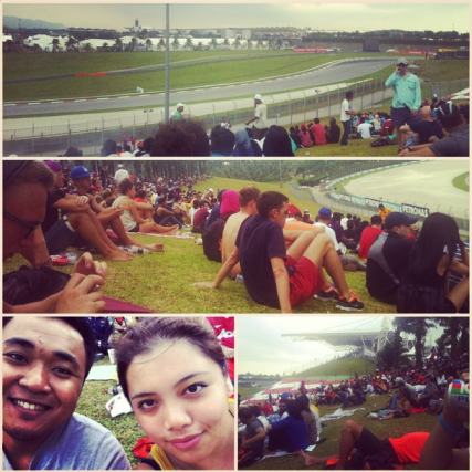 My first time attending the F1 Grand Prix and didn't understand why everyone is crazy about it. I left half way.