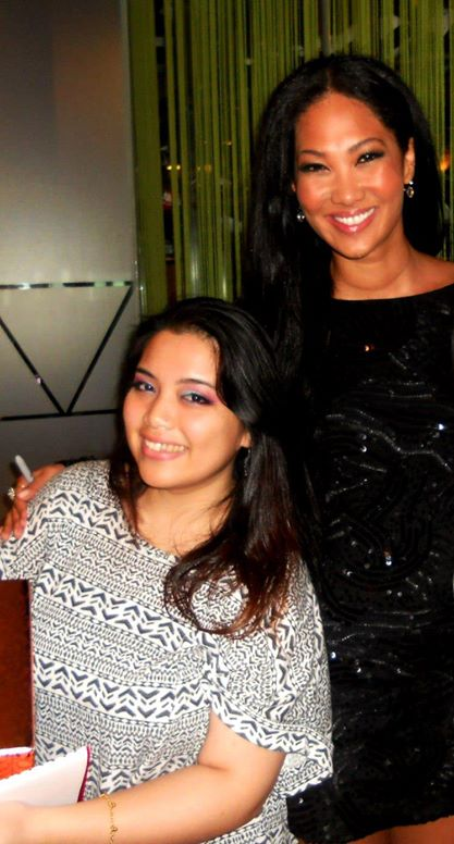 Kimora Lee Simmons and I in 2011. I won a slogan competition to meet her when she came down to KL!