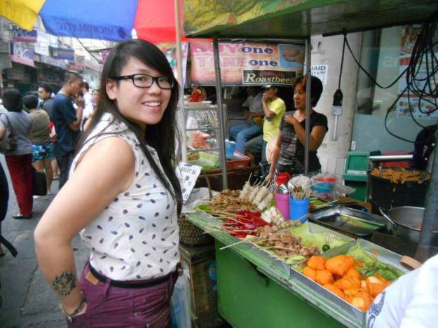 Manila street food is a definite must try! SUPER YUMMY!