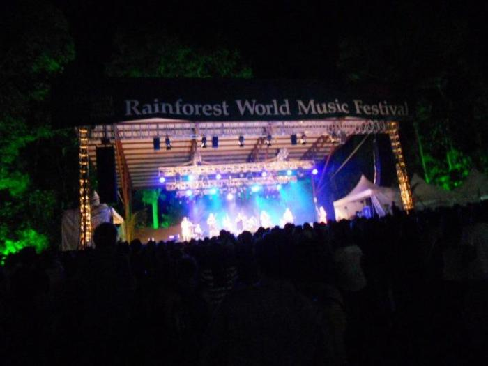 Rainforest World Music Festival (RWMF) in Kuching, Sarawak
