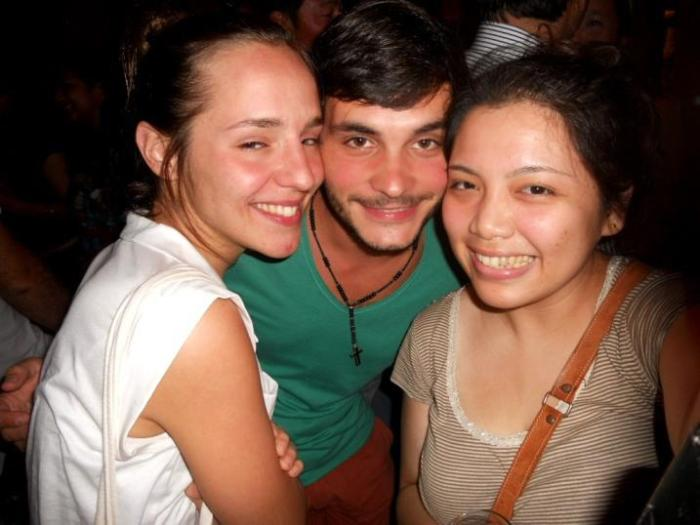 New German friends I made during RWMF who happens to be traveling around before starting school again.