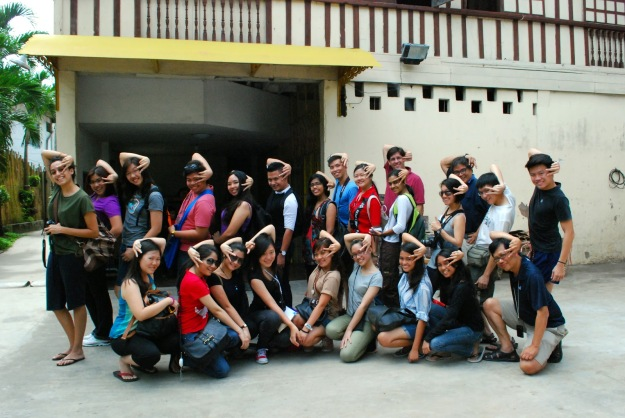 Monash University Malaysia students who went for the 'In Search of Iloilo City' trip last year. (Picture courtesy of their blog; In Search of Iloilo City)