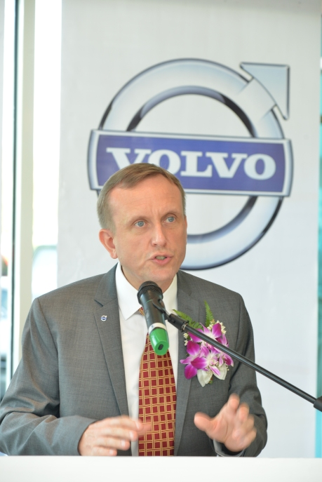 Speech by Mr. Keith Schafer Managing Director of Volvo Cars Malaysia Sdn Bhd